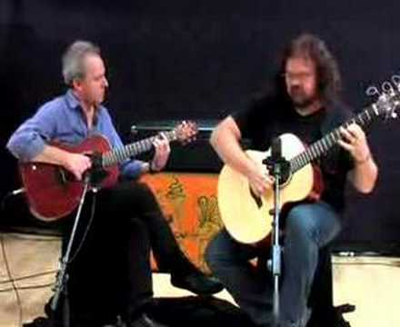 Don Ross and French Guitarist soloing -