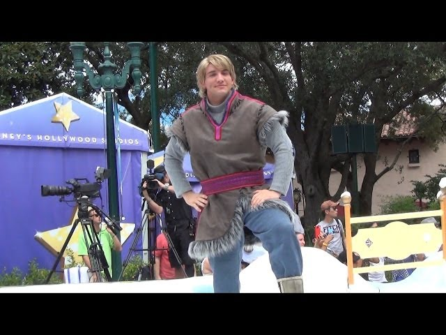 Kristoff Makes First Public Appearance in Anna and Elsa's Royal Welcome, Disney's Hollywood Studios
