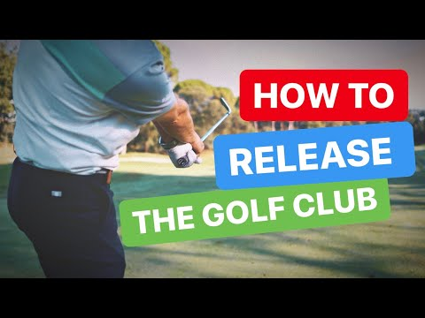 HOW TO RELEASE THE GOLF CLUB AT IMPACT