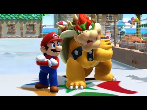 Mario and Sonic at the Sochi 2014 Olympic Winter Games All Special Animations Wii U