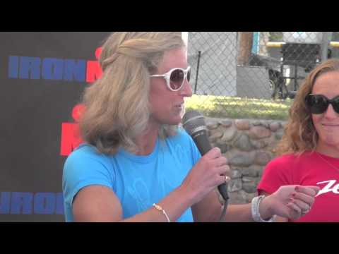 Ironman Arizona - Pro Panel Meredith Kessler 2011