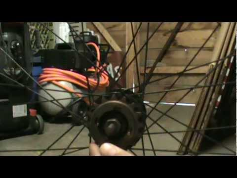 How to remove fixed gear cog and freewheel with no