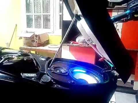 Audio motor honda vario