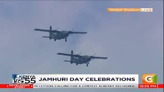 Kenya Air Force displays aerial combat prowess during 55th Jamhuri Day