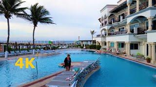 Morning Walk Through The Royal Playa del Carmen Mexico May 2017 POV Vacation Large Hot Resort 4K