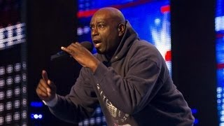"Zipparah, Mr Zip, ""Where me keys, where me phone"" - Britain's Got Talent 2012 - UK version"