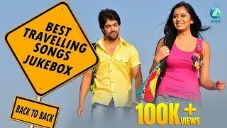 Best Travelling Songs Jukebox   Back to Back   Sandalwood   Kannada Hit Songs