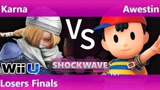 SW 101 - MB   Karna (Sheik) vs SS   Awestin (Ness) Losers Finals - Smash 4