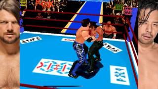 New Japan Mod Sims - AJ Styles vs Shinsuke Nakamura