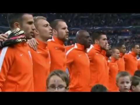 Netherlands national  football team and ♫♪ Rock Anthem ( Wilhelmus) ♫♪ Worldcup  2014 !!