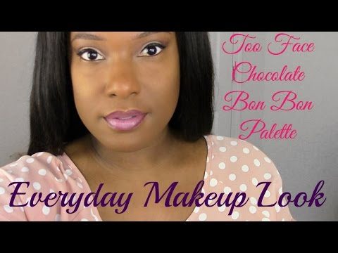 GRWM | Too Faced Chocolate Bon Bon Palette | Simple Everyday Makeup Look