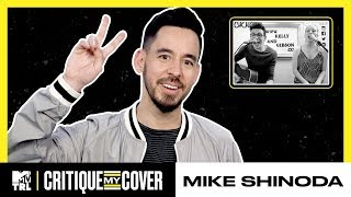 Mike Shinoda Reacts To A Cover Of His Song 'Crossing A Line' 🎶   Critique My Cover   TRL