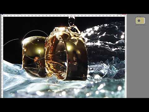 Tutorial Fotografia Splash com Alianças - Dicas de Fotografia