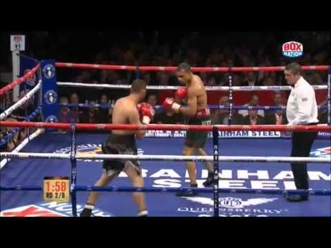 Chris Eubank Jr V Omar Siala - 2nd Round T.k.o video