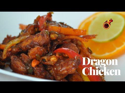 Easy & Tasty Dragon Chicken || രുചികരമായ ഡ്രാഗൺ ചിക്കൻ || Indo Chinese Dragon Chicken ||Ep:413