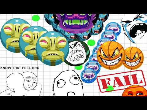 Agar.io Best Fail Moments! Hilarious Fail Compilation! Part 3!