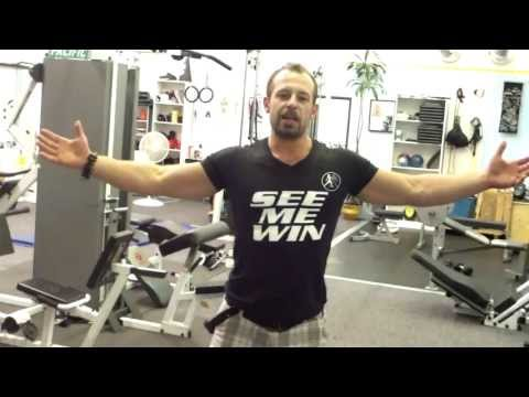 Best Exercise - How to do a Perfect Clean and Press - Whole Body Training Image 1