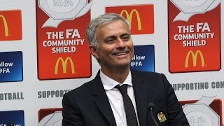 Jose Mourinho's Full Press Conference Following The Community Shield Win