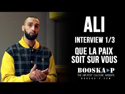 Ali : « Y'en a qui sont dans la musique avec la religion du Diable...» [Interview 1/3]