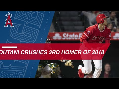 Ohtani homers in third straight game