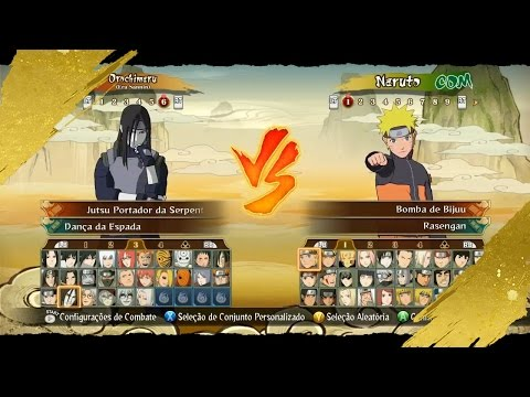 DOWNLOAD Pack 1.0 MOD Naruto STORM Revolution™ Costumes Included DLC, Characters other Jutsus!