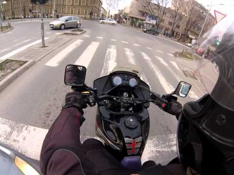 GoPro HERO 3 silver - first test ride - SERBIA