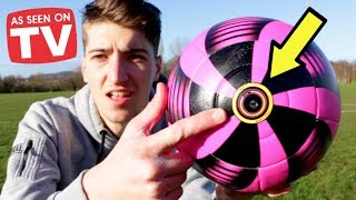 'Kick HERE for CRAZY Knuckleball' - Testing Strange Football Products