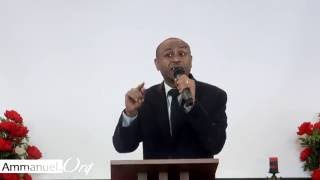 Ammanuel Montreal Evangelical Church - by Pastor Eyasu Tesfaye - Amazing preaching part 1