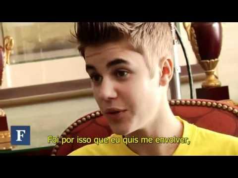 Justin Bieber para a revista