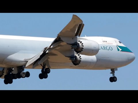 NEXT GEN | Cathay Pacific Cargo 747-867F Takeoff and Landing at Melbourne Airport - [B-LJL]
