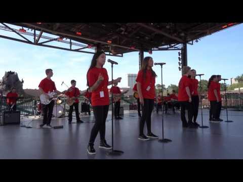 Supermassive Black Hole - FLMS Rock Ensemble 2016 Disney Performance