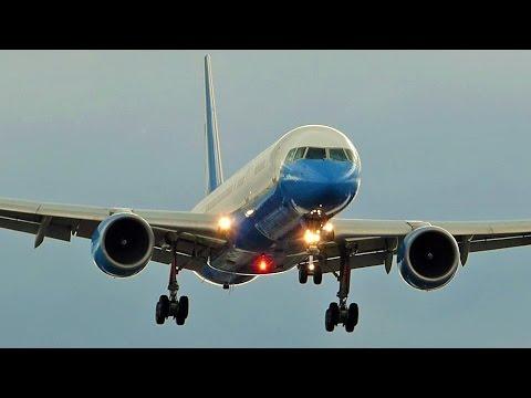 [FullHD] US Air Force Boeing VC-32A landing at Geneva/GVA/LSGG