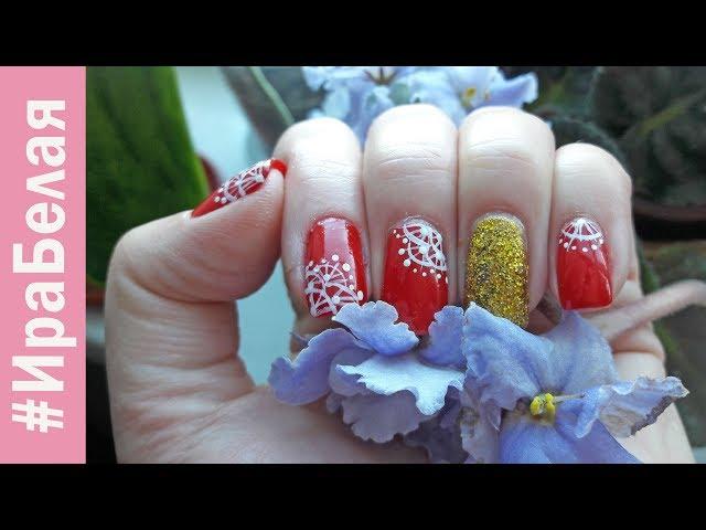 КАК ОБНОВИТЬ И СДЕЛАТЬ СВЕЖИЙ МАНИКЮР, рисуем на ногтях | Irina Belaja