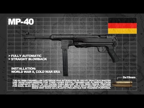Z: Armoury (Nazi Zombies Weaponry Guide) - The 'MP40' (The Afterburner)
