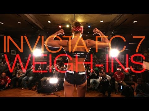 Invicta FC 7 Weigh-ins