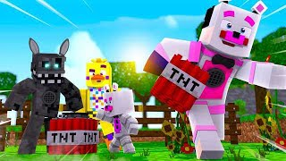 TNT Games Challenge! Minecraft FNAF Roleplay