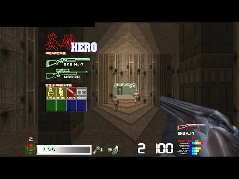 Brutal Doom Realistic Weapons Add-on Call of DOOM Playtest  - HERO(英雄) Class