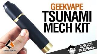 GeekVape TSUNAMI MECH KIT / Black Ring Plus + Tsunami PRO / revisión
