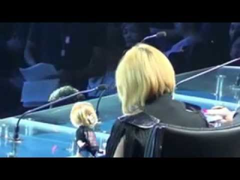 Charice and her Doll - X FACTOR PHILIPPINES - August 4, 2012