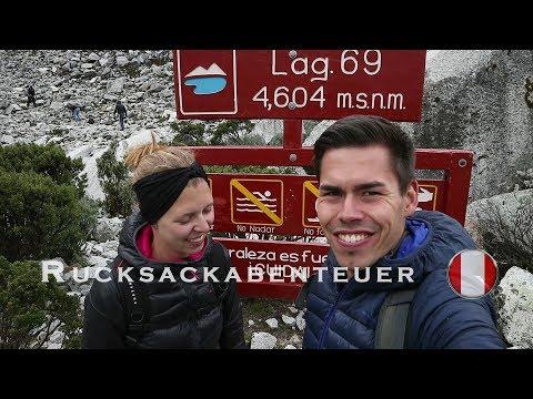 BEI SCHNEEFALL ZUR LAGUNA 69 | Peru | Weltreise Vlog #23