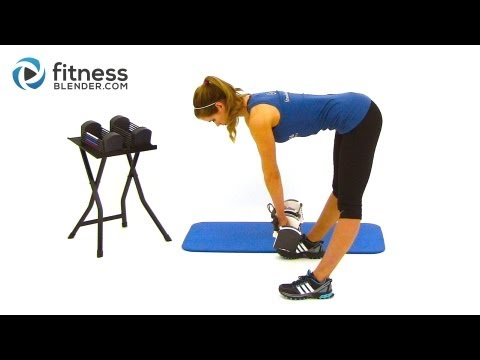 Toned & Curvy Body Workout - Dumbbell Exercises to Get Curves when you are Naturally Slender