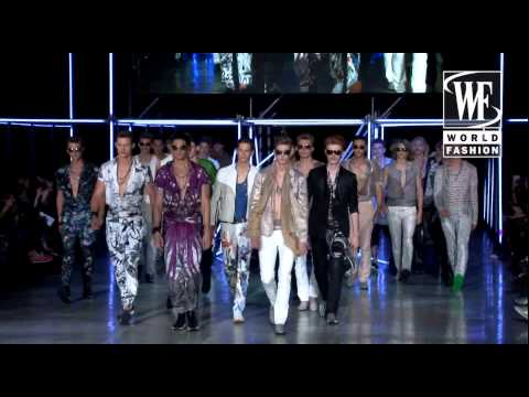 Roberto Cavalli Spring-Summer 2015 Show Mens Collection Milan