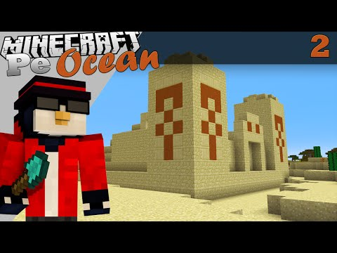 Minecraft Pe Ocean Templul din desertul blestemat Ep.2 S.3