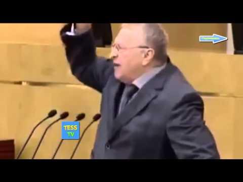 Жириновский громко орет Убирайтесь вон! пропадите вы пропадом,подлость,гадость преступники!