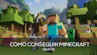Como Conseguir Minecraft Original Grátis - Sem Programa