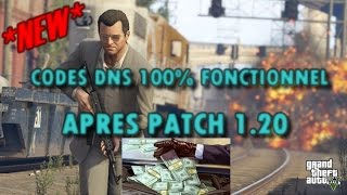 NEWS CODES DNS 1.20 GTA 5 ONLINE PS3 100% FONCTIONNELLE!!! [GTA 5 ONLINE NEXT GEN Gameplay]