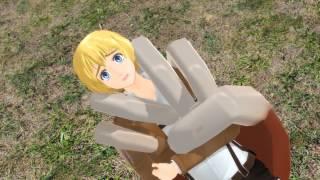 [MMD] Armin x Annie