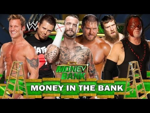 WWE Money In The Bank 2013 Raw Money In The Bank Full Match HD