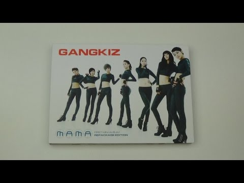 Unboxing Gangkiz 갱키즈 1st Korean Mini Album Repackage MAMA