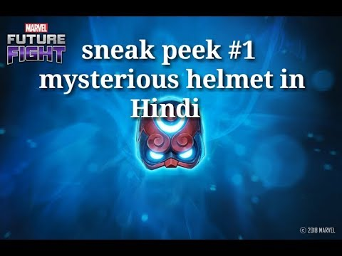 [[ Sneak Peak #1 mysterious helmet ]]  Marvel Future Fight HINDI INDIA